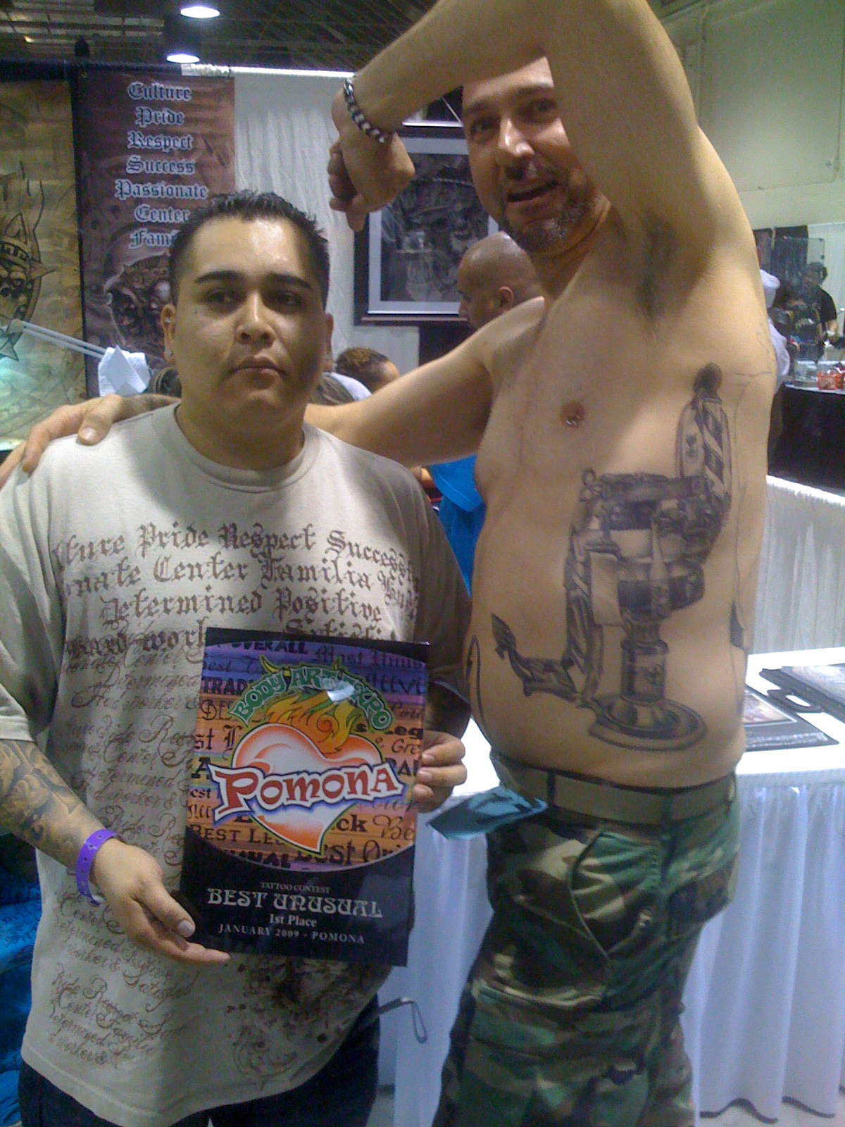Tat Wins Best Unusual First Place At Pomona Body Art Expo